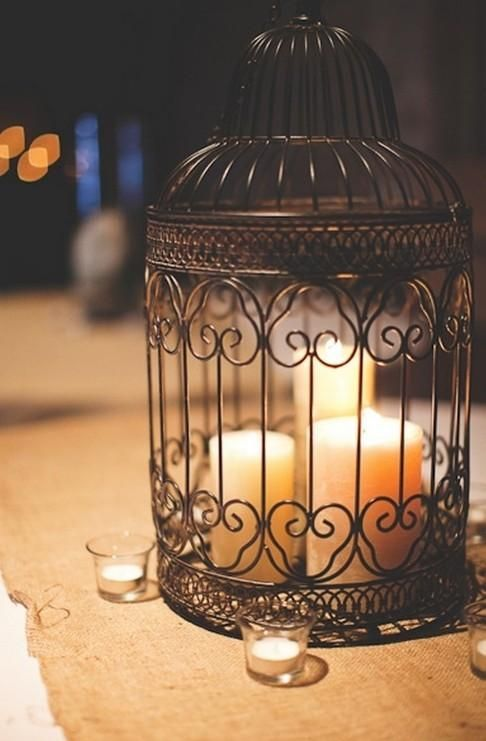 12 Gorgeous Decor Ideas Using Birdcages Diy Amp Decor