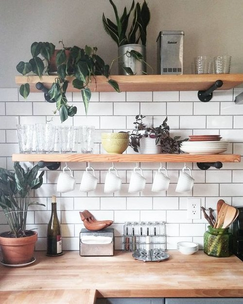 kitchen shelves ideas (5)