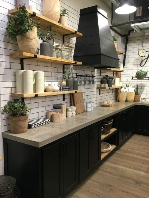 kitchen shelves ideas (7)