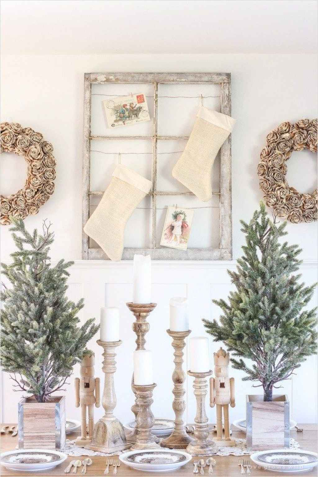 inspiring Ideas for Rustic Christmas Decorations (1)