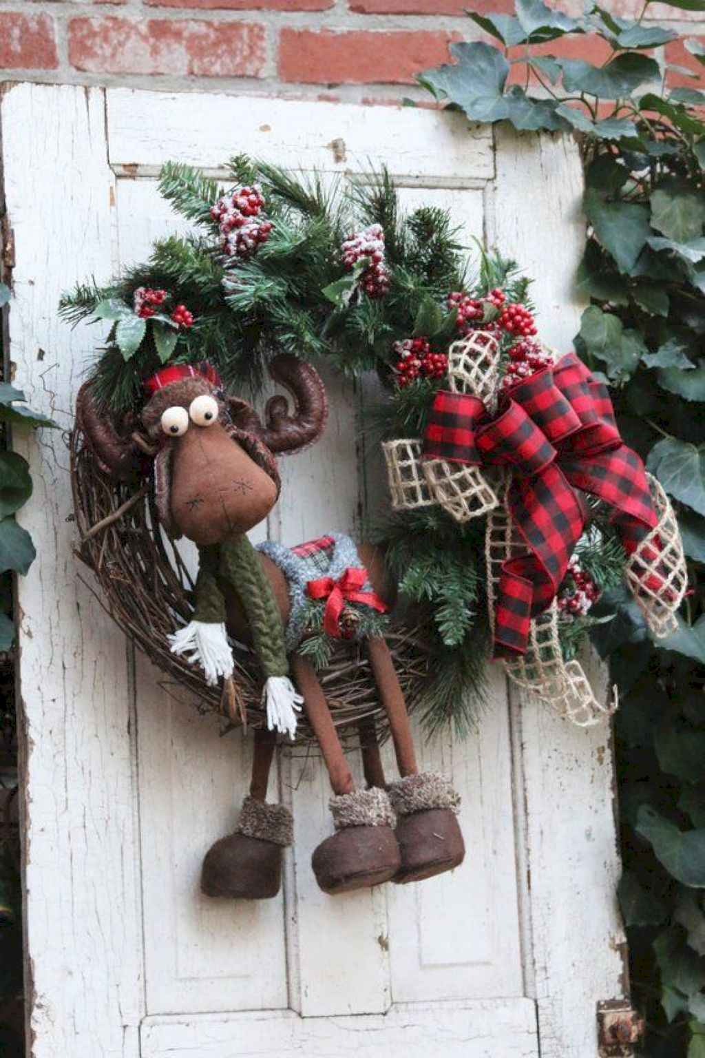 inspiring Ideas for Rustic Christmas Decorations (18)